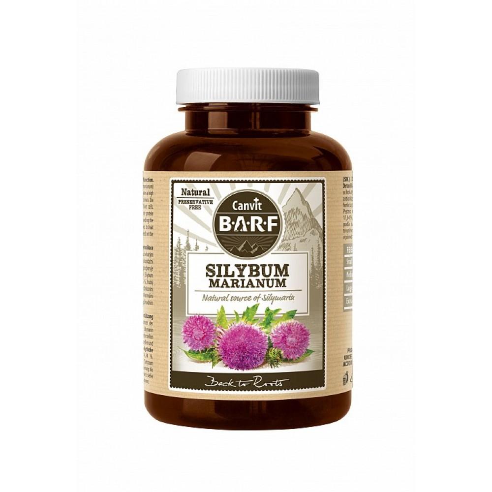 Canvit Barf Silybum Marianum φυσικό συμπλήρωμα για ενίσχυση συκωτιού 160 γρ.