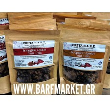 Creta Barf ΚΤΨ λιχουδιές με συκώτι μοσχαριού, αυγό, καρύδα και προβιοτικά 100 γρ.
