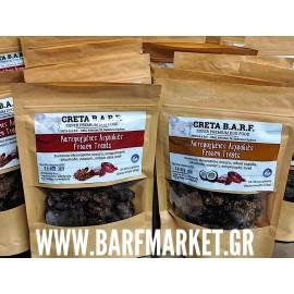 Creta Barf ΚΤΨ λιχουδιές με συκώτι μοσχαριού, λιναρόσπορο και προβιοτικά 100 γρ.