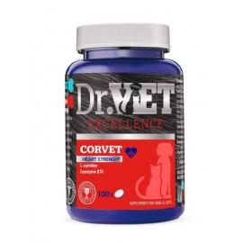Dr.Vet Corvet Συμπλήρωμα με L-Carnitin, Coenzyme Q και Ω3 για στήριξη της καρδιακής λειτουργίας