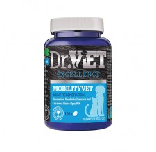 Dr.Vet Mobilityvet Συμπλήρωμα με γλυκοζαμίνη, χονδροϊτίνη και υαλουρονικό οξύ για αρθρώσεις