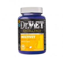 Dr.Vet Multivet Πολυβιταμινούχο Συμπλήρωμα με ταυρίνη και Ω3
