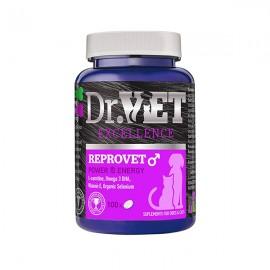 Dr.Vet Reprovet Male Συμπλήρωμα για βελτίωση της αναπαραγωγικότητας αρσενικών σκύλων και γάτων