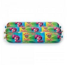 Doca σαλάμι για σκύλους με φιλέτο γαλοπούλας 800 γρ.