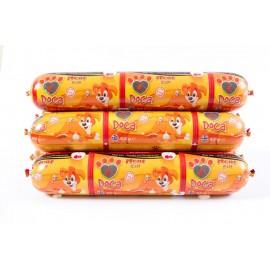 Doca σαλάμι για σκύλους με κοτόπουλο και ρόδι 800 γρ.