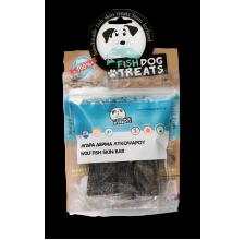 Fish Dog Treats αφυδατωμένη μπάρα από δέρμα λυκόψαρου 55 γρ.
