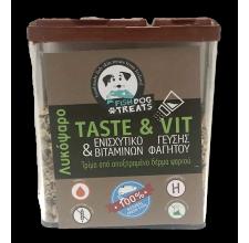 Fish Dog Treats Taste & Vit τρίμμα από δέρμα λυκόψαρου 40 γρ.