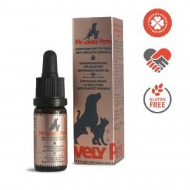 My Lovely Pets φυσικό αντιπαρασιτικό με έλαιο CBD 2% & βότανα για κατοικίδια 10 ml