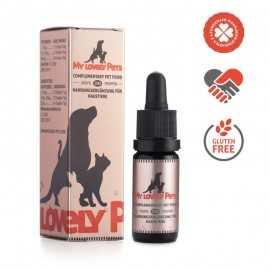 My Lovely Pets έλαιο κανναβιδιόλης CBD για κατοικίδια 2% 200mg 10 ml