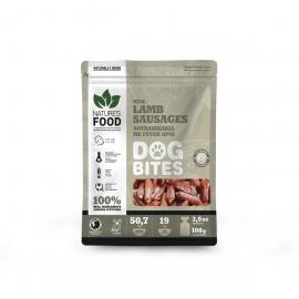 Nature's Food DogBites Αφυδατωμένα Λουκανικάκια Αρνί 100γρ.