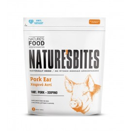 Nature's Food Dog Bites αποξηραμένα χοιρινά αυτιά (2 τμχ)