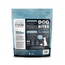 Nature's Food Dog Bites Αφυδατωμένα Μπιφτεκάκια με Κοτόπουλο και Μοσχάρι 100 γρ.