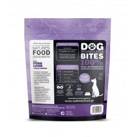 Nature's Food Dog Bites Αφυδατωμένο Συκώτι Χοιρινό 100 γρ.