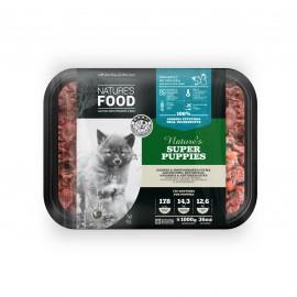 Nature's Food Super Puppies (σκαφίδιο με κιμά) 1 κιλό