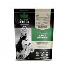 Nature's Food Lamb Dinner (σακούλα με μπιφτέκια) 1 κιλό