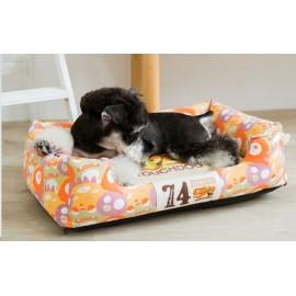 Κρεβατάκι σκύλου Touchdog Bed Monsters πολύχρωμο Large 80χ60χ22 εκ.