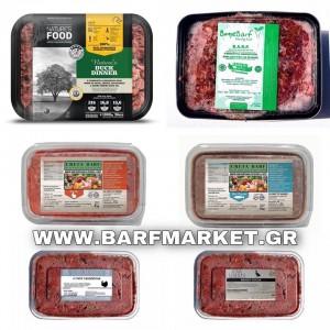 Barf Προσφορά 10 kg Υποαλλεργικές τροφές BARF για σκύλους (ΠΑΠΙΑ, ΓΑΛΟΠΟΥΛΑ, ΚΟΥΝΕΛΙ, ΨΑΡΙ, ΑΡΝΙ) 4 ΕΤΑΙΡΕΙΩΝ BARF